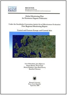 3. Global Monitoring plan